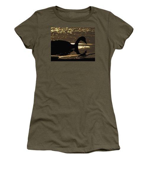 Golden Girl Women's T-Shirt (Athletic Fit)
