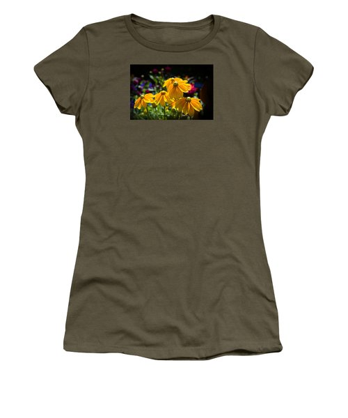 Golden Glow Women's T-Shirt (Junior Cut) by Milena Ilieva
