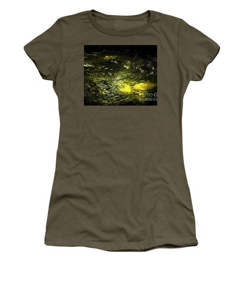 Women's T-Shirt (Junior Cut) featuring the photograph Golden Glow by Tatsuya Atarashi