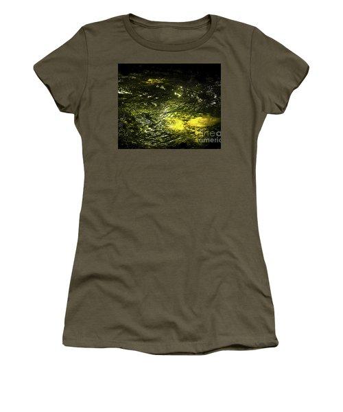Golden Glow Women's T-Shirt (Athletic Fit)