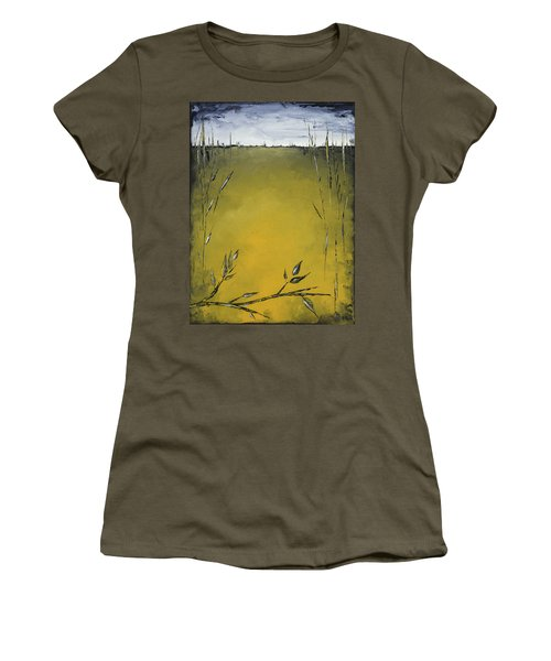 Golden Greens Women's T-Shirt (Athletic Fit)