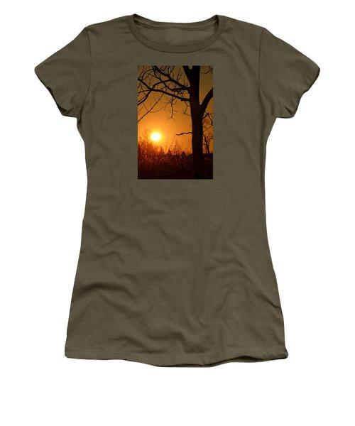 Golden Hour Daydreams Women's T-Shirt (Junior Cut) by Nikki McInnes