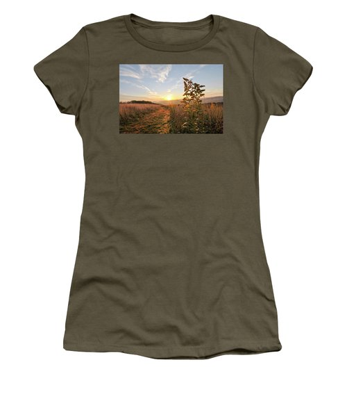 Golden Landscape Women's T-Shirt