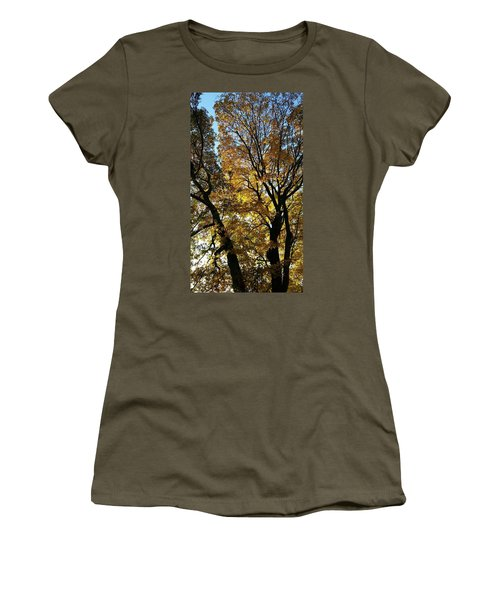 Golden Fall Women's T-Shirt (Athletic Fit)