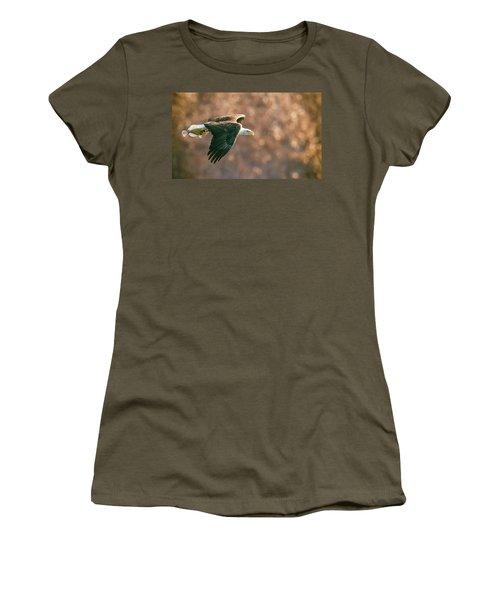 Golden Light Women's T-Shirt (Junior Cut) by Kelly Marquardt
