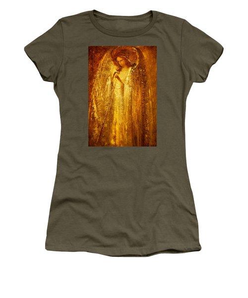 Golden Light Of Angel Women's T-Shirt