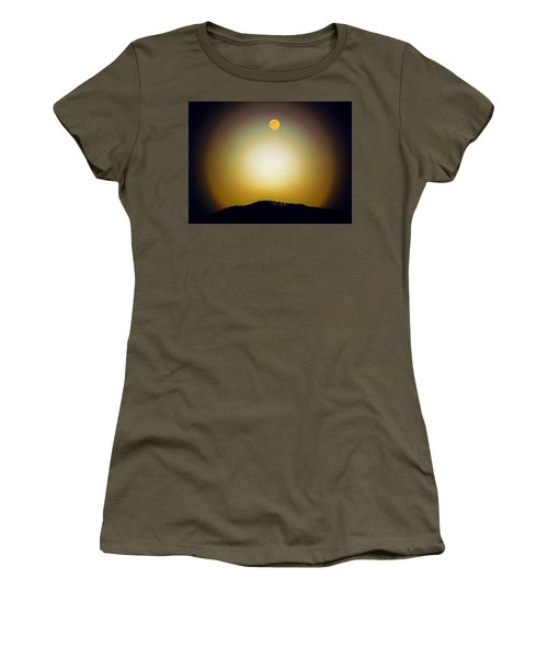 Golden Moon Women's T-Shirt (Athletic Fit)
