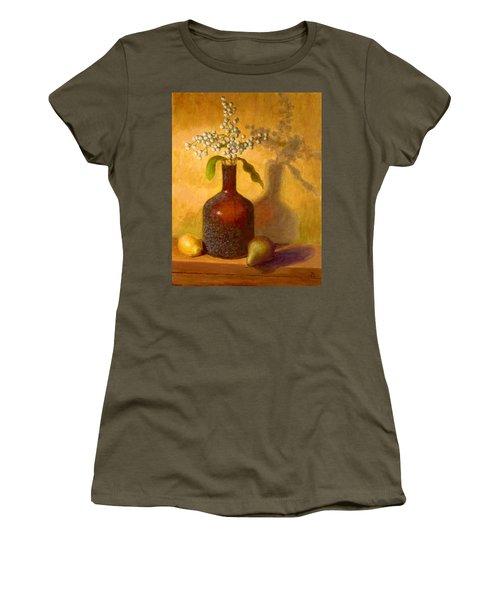 Golden Still Life Women's T-Shirt (Athletic Fit)