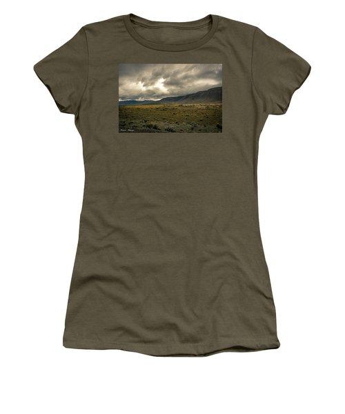 Golden Storm Women's T-Shirt (Junior Cut) by Andrew Matwijec