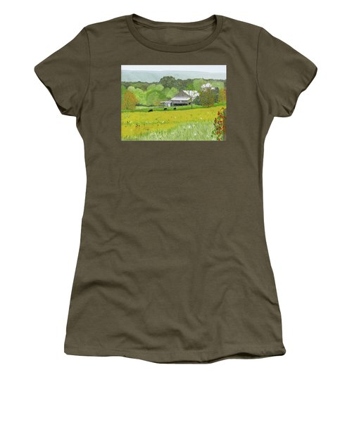 Goldenrod Abounds Women's T-Shirt (Athletic Fit)