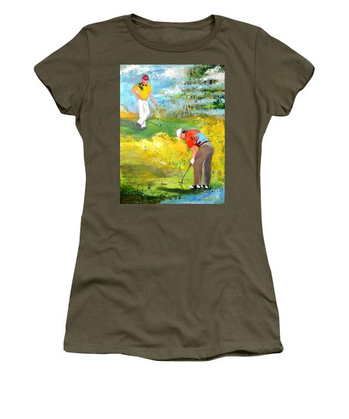 Golf Buddies #2 Women's T-Shirt