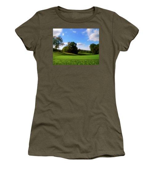Golf Course Landscape Women's T-Shirt