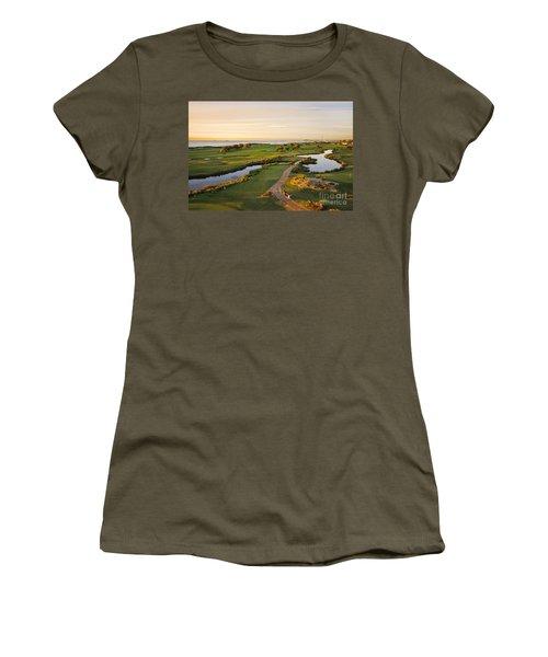 Golfing At The Gong II Women's T-Shirt