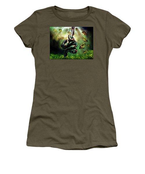 Gone Fishin Women's T-Shirt