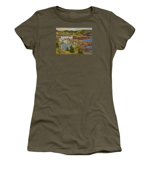 Good Dry Day Women's T-Shirt (Junior Cut) by Jane Thorpe