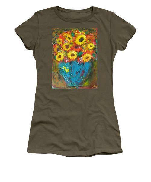 Good Morning Sunshine Women's T-Shirt (Junior Cut) by Maria Watt