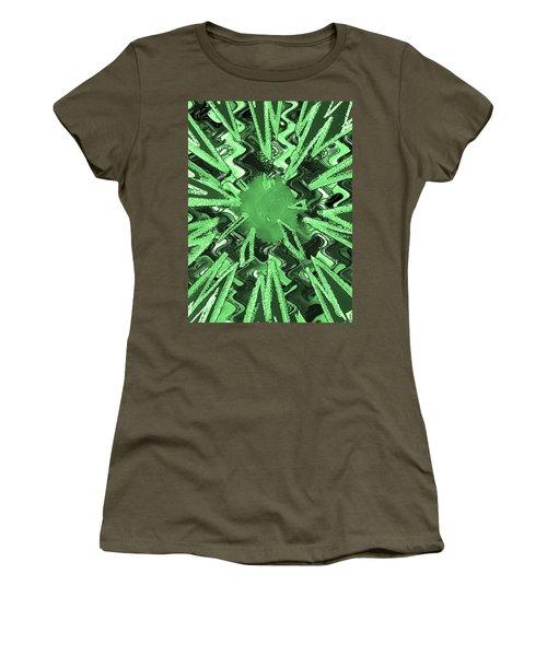 Goodluck Star Sparkles Obtained In Meditative Process Navinjoshi Artist Fineartamerica Pixels Women's T-Shirt