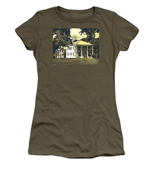 Goodwood Plantation Baton Rouge Circa 1852 Women's T-Shirt