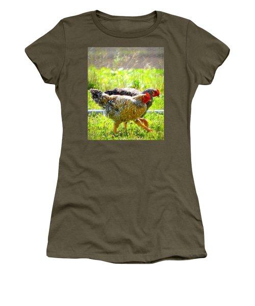 Gossip Girls Women's T-Shirt (Athletic Fit)