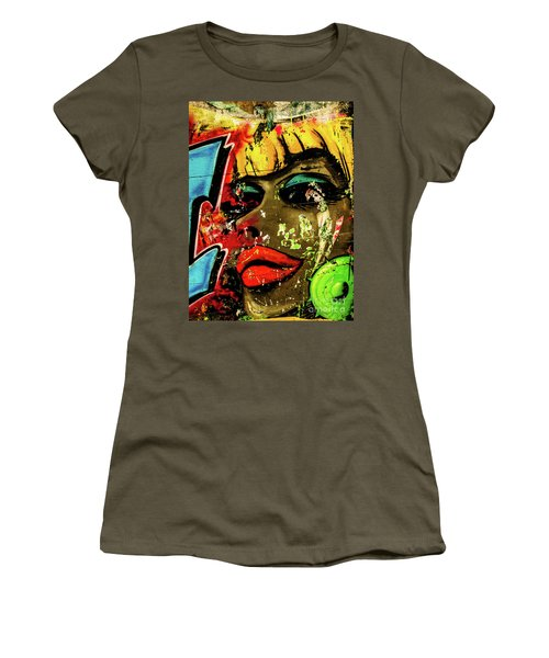 Graffiti_04 Women's T-Shirt (Athletic Fit)