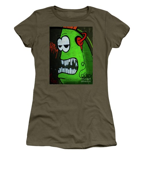 Graffiti_12 Women's T-Shirt (Athletic Fit)