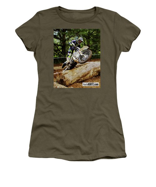 Graham Jarvis At 2017 Kenda Tennessee Knockout Enduro Women's T-Shirt (Athletic Fit)