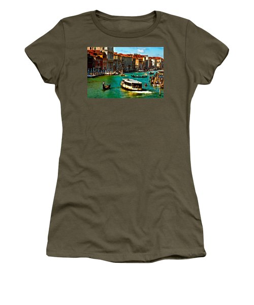 Grand Canal Daytime Women's T-Shirt