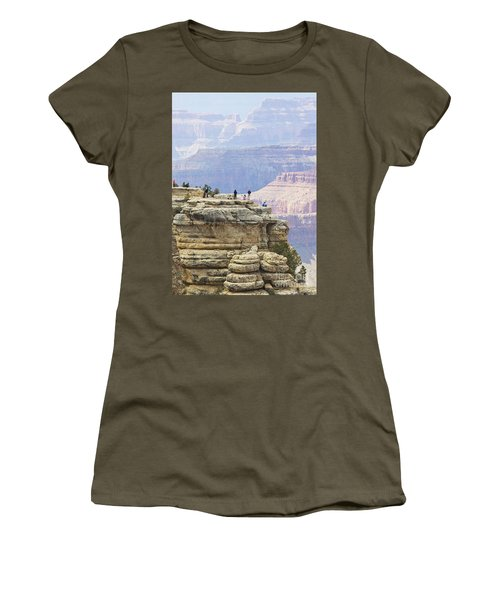 Women's T-Shirt (Junior Cut) featuring the photograph Grand Canyon Vista by Chris Dutton
