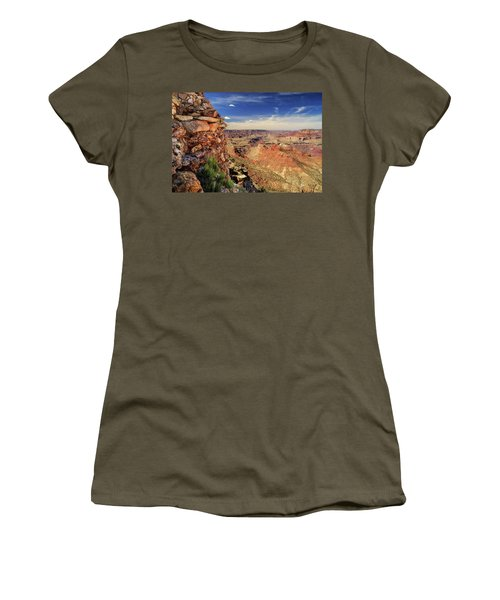 Grand Canyon Wall Women's T-Shirt