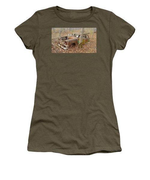 Grandpa's Ford Women's T-Shirt (Junior Cut) by Jan VonBokel
