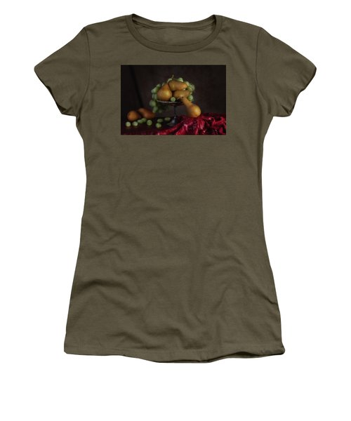 Grapes And Pears Centerpiece Women's T-Shirt