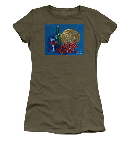 Grapes And Wine Women's T-Shirt