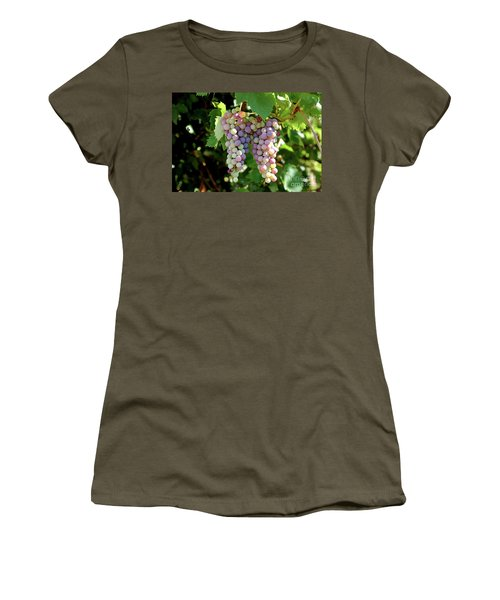 Grapes In Color  Women's T-Shirt