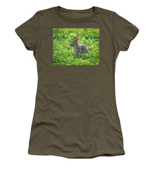 Women's T-Shirt (Junior Cut) featuring the photograph Grass Hoppers by Bill Pevlor