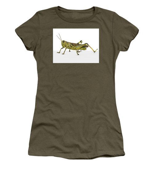 Grasshopper Women's T-Shirt (Athletic Fit)