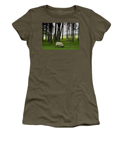 Grazing In The Woods Women's T-Shirt