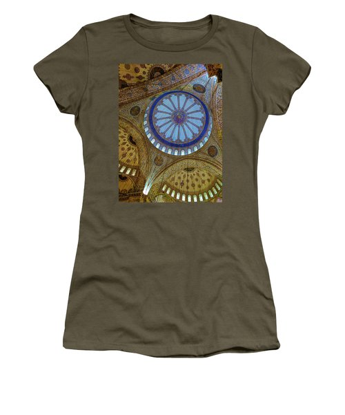 Great Blue Dome Women's T-Shirt (Athletic Fit)