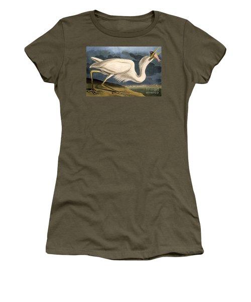 Great White Heron Women's T-Shirt