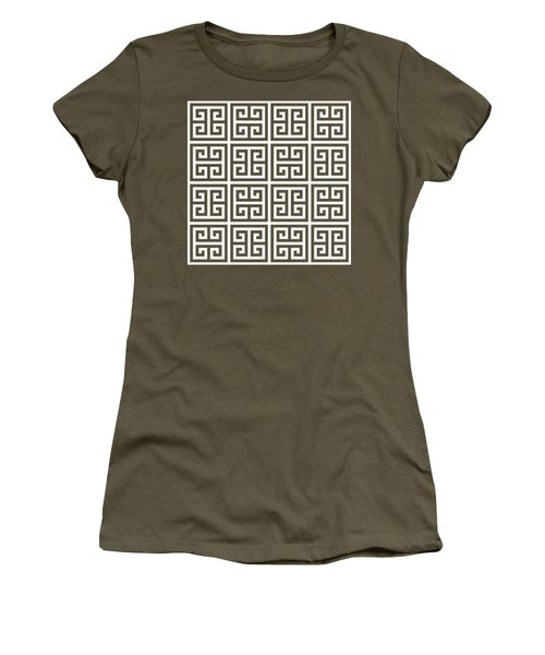 Greek Pattern 2 Women's T-Shirt (Athletic Fit)