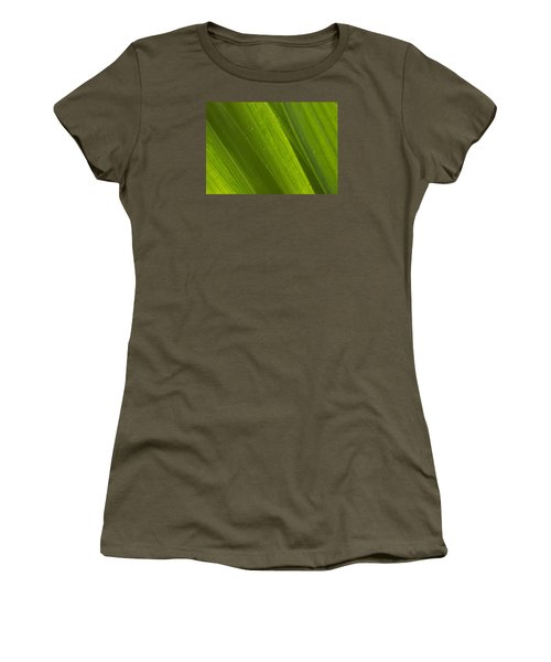 Green Abstract 2 Women's T-Shirt (Athletic Fit)