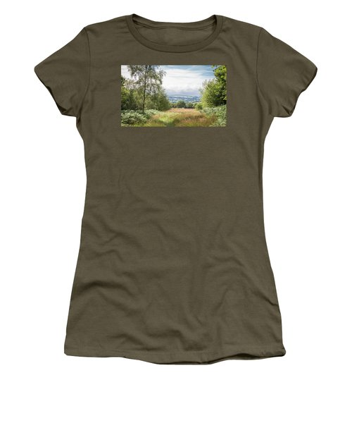 Green Corridor Women's T-Shirt