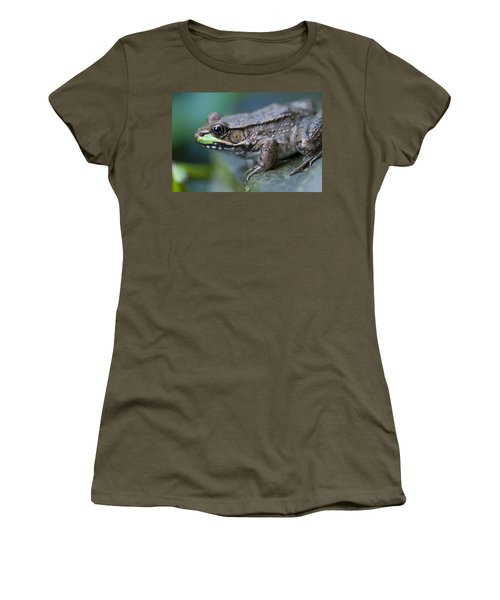 Green Frog Women's T-Shirt