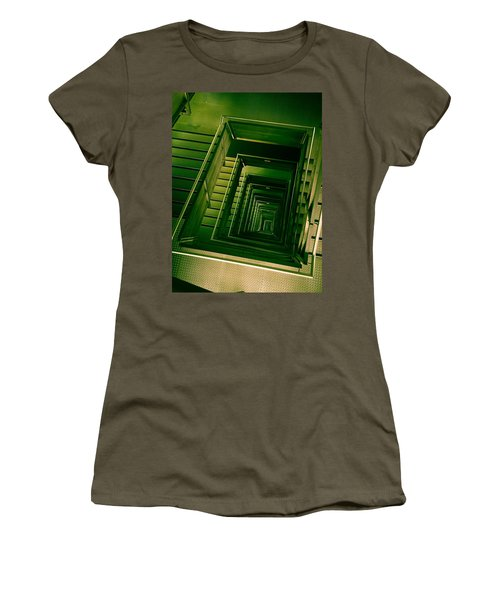 Green Infinity Women's T-Shirt