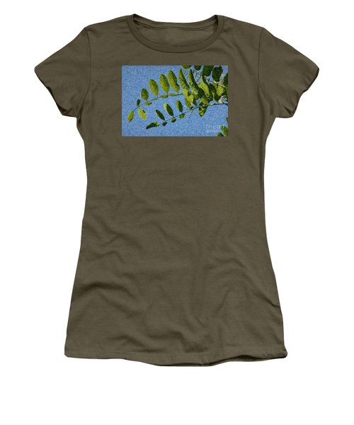 Green Leaves 2 Women's T-Shirt