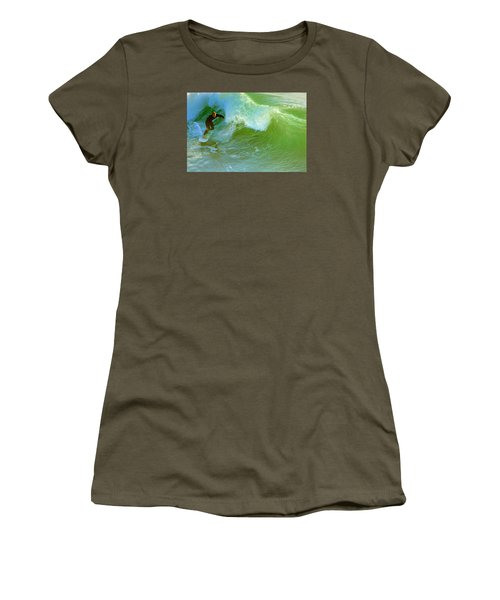 Green Machine Women's T-Shirt (Athletic Fit)