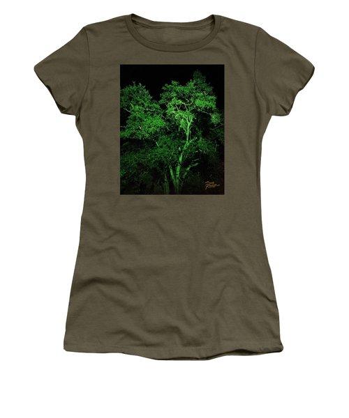 Green Magic Women's T-Shirt (Junior Cut) by Doug Kreuger