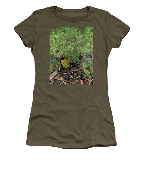 Green Man Spirit Photo Women's T-Shirt (Junior Cut) by Gina O'Brien