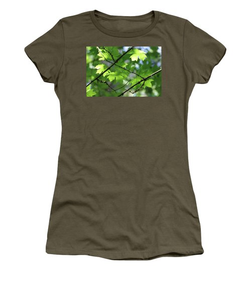 Greenleaves Women's T-Shirt (Athletic Fit)
