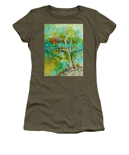 Greens Of Late Summer Women's T-Shirt (Athletic Fit)