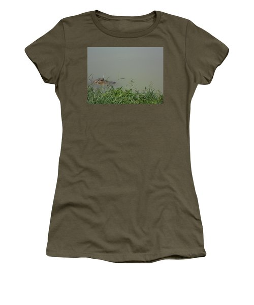 Greenwood Gator Farm Women's T-Shirt (Athletic Fit)